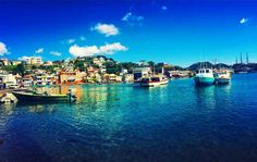 Grenada's picturesque harbor capital, St. George's, rings the underwater remnants of an ancient volcanic crater. On the waterfront and beyond, travelers will find colonial architecture, narrow streets and a bustling Market Square. Photo by: shayleejensen