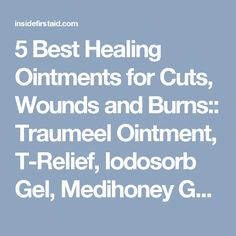 We examine the best ointments and gels that speed healing and reduce pain in soft tissue injuries including cuts, bruises, burns, and chronic pain. Soft Tissue Injury, First Aid Kit, Chronic Pain, Burns, Medicine, Healing, Live, Survival First Aid Kit, Medical