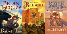 All of the REDWALL books - by Brian Jacques