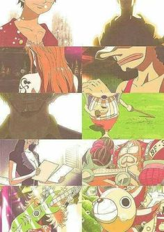 Mugiwaras (One piece)
