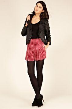 Oasis Trousers/Shorts   Multi Red Polkadot Shorts   Womens Fashion Clothing   Oasis Stores UK - StyleSays
