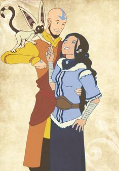 pfft I've never drawn Aang or Katara. Cause I've been a Avatar fan for a long time. art (c) avatar (c) bryke Even the Avatar needs a break