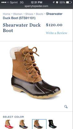 1c5381524e97b Sperry duck boots in black bottom Stylish Rain Boots