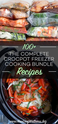 100+ easy recipes that you can freeze without any cooking ahead of time. Organized grocery lists. Full nutritional information.