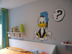 nieuw een cartoon of strip tekening op je muur