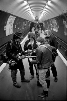 40 years of the London Underground captured by Bob Mazzer.