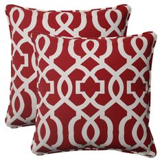 Red Accent Pillows