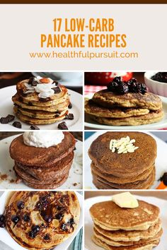 17 Epic Low-Carb Pancakes No One Will Know Are Keto (and dairy-free) (Healthful Pursuit) Keto Foods, Ketogenic Recipes, Ketogenic Diet, Low Carb Pancakes, Low Carb Breakfast, Breakfast Recipes, Pancake Recipes, Dairy Free Keto Pancakes, Free Breakfast