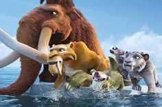 Ice Age, Continental Drift - Sometimes, it's just good to have friends. :)