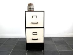 Metal File Cabinets  Industrial Office / by SnapshotVintage, $178.00