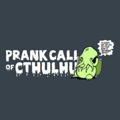 """""""Prank Call of Cthulhu"""" Cute Cthulhu Hoodie   Unisex Adult and Kid's Sizes from Boots Tees."""