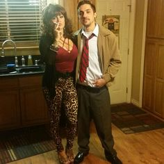Al and Peggy Bundy costume