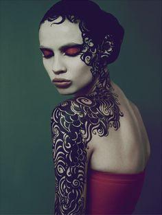 Masha Kirsanova by Alina Karo.