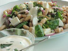 Anne Karins Mat & Vin – Salat med krydret bønner og frisk dressing