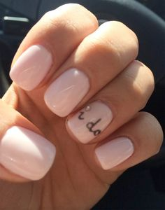 i do nail art for bride on wedding day - brides of adelaide
