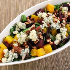 Roasted Beet and Blue Cheese Salad, a recipe from the ATCO Blue Flame Kitchen.
