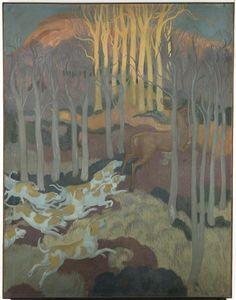 Maurice Denis- La Légende de Saint-Hubert : le Bien-Aller, 1897