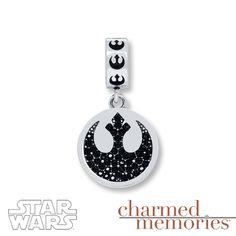Charmed Memories Star Wars Rebel Alliance Sterling Silver Charm