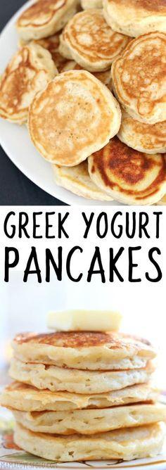 greek yogurt pancake will def make again! Ww Recipes, Brunch Recipes, Breakfast Recipes, Cooking Recipes, Healthy Recipes, Breakfast Healthy, Breakfast Fruit, Brunch Food, Sunday Brunch