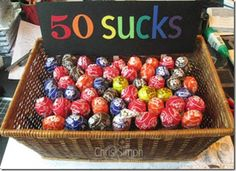50th Birthday Ideas - DIY Crafty Projects