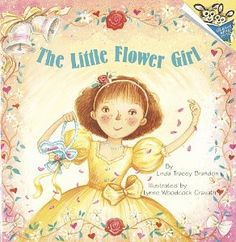 Using this book to ask my flower girl.