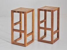 Descarga el catálogo y solicita al fabricante Step By vitamin design, taburete alto de madera maciza diseño GG designart