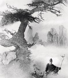 郎靜山(1892-1995),中國極負盛名的攝影家,於1949年遷居臺灣後曾經幾度遷徙,曾住過臺北臨沂街以及新北市板橋區。