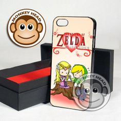 Valentine Of Legend Zelda for iPhone 4/4s, 5, 5s, 5c and Samsung Galaxy s2, s3 and s4 Case by MOMONKEYHEAD on Etsy