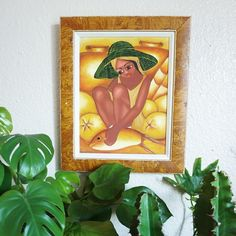 Gorgeous original art painting of a Dominican lady. By Rey Paulino. Now listed. Wood Bark, Vintage Soul, White Elephant, Beautiful Paintings, Original Art, Vibrant, My Etsy Shop, Hand Painted, The Originals