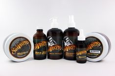Suavecito can take care of your whole head with these grooming helpers. There's an 8 ounce #menthol #vanishingcreme / #bayrum / #haircream / #groomingspray / #beardoil / #shavingcreme #suavecito #suavecitopomade #getithombre #mrpomade Pomade.com
