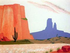 Animation Backgrounds: ROAD RUNNER AND COYOTE