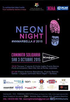 Glow Run, Club Flyers, Neon Nights, Foot Prints