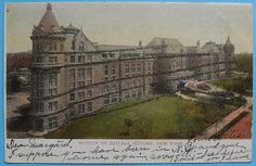 1900s Museum Of Natural History NYC vintage postcard NEW YORK CITY Glitter Central Park West by Christian Montone, via Flickr
