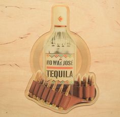 No Way José – Tequila - Shaped Picture Disc #Vinyl - 12 Inch