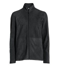 fleece jacket | Schwarz | Black | Men's H & M DE