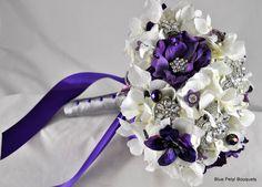 Anemone Bouquet by Blue Petyl #wedding #bouquet