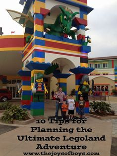 10 tips and tricks you need to know while planning a Legoland trip. A must read before heading to the park.