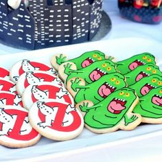 Ghostbusters Sugar Cookies