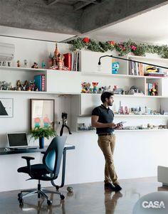 Home office: duas histórias de sucesso de quem trabalha em casa - Casa