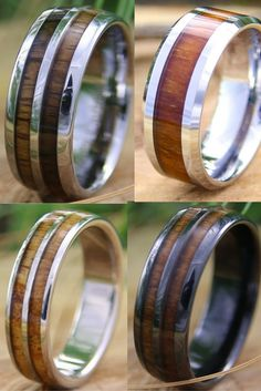 I think I am going to get him one of these wooden rings for a Christmas gift. I love these mens wood rings! They are so unique.