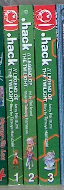.hack//Legend of the Twilight volumes 1-3.