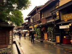 Hida Takayama, Gifu, Japan by Herman Tse, via Flickr: