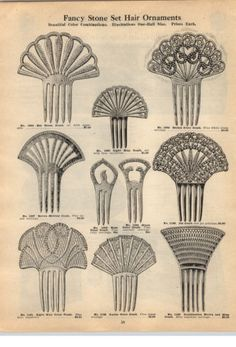1924-PAPER-AD-Fancy-Stone-Jeweled-Hair-Ornaments-Combs-Jet-Comb