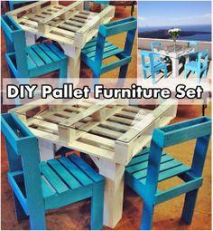 Diy Projects: DIY Pallet Furniture Set
