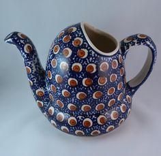 Vintage Boleslawiec Ceramika Wiza Polish by VintageCornerBazaar