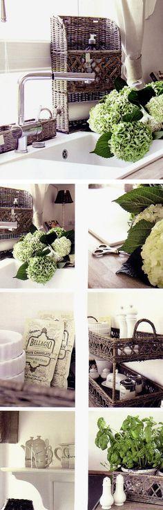 "Relating to the kitchen sink (from the book ""Belle Blanc"" by Mirjana Schnepf & Bianca Aurich)"
