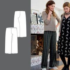 Bukse Trousers, Pants, Bordeaux, Sewing Patterns, Fashion, Trouser Pants, Trouser Pants, Stitching Patterns, Moda