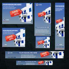Web Design, Graphic Design, Social Media Banner, Google Ads, Web Banner, Lorem Ipsum, Photoshop, Real Estate, Check