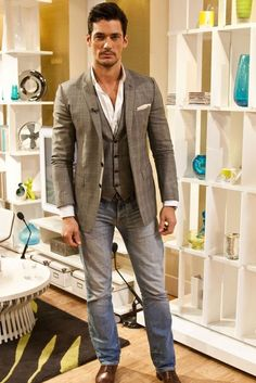 David Gandy: all his best outfits                                                                                                                                                                                 More
