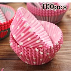 100Pcs Colorful Rainbow Paper Cake Cupcake Liner Baking Muffin Box Cup Case Party Tray Cake Mold Decorating Tools Cupcake paper ** View the item in details by clicking the image